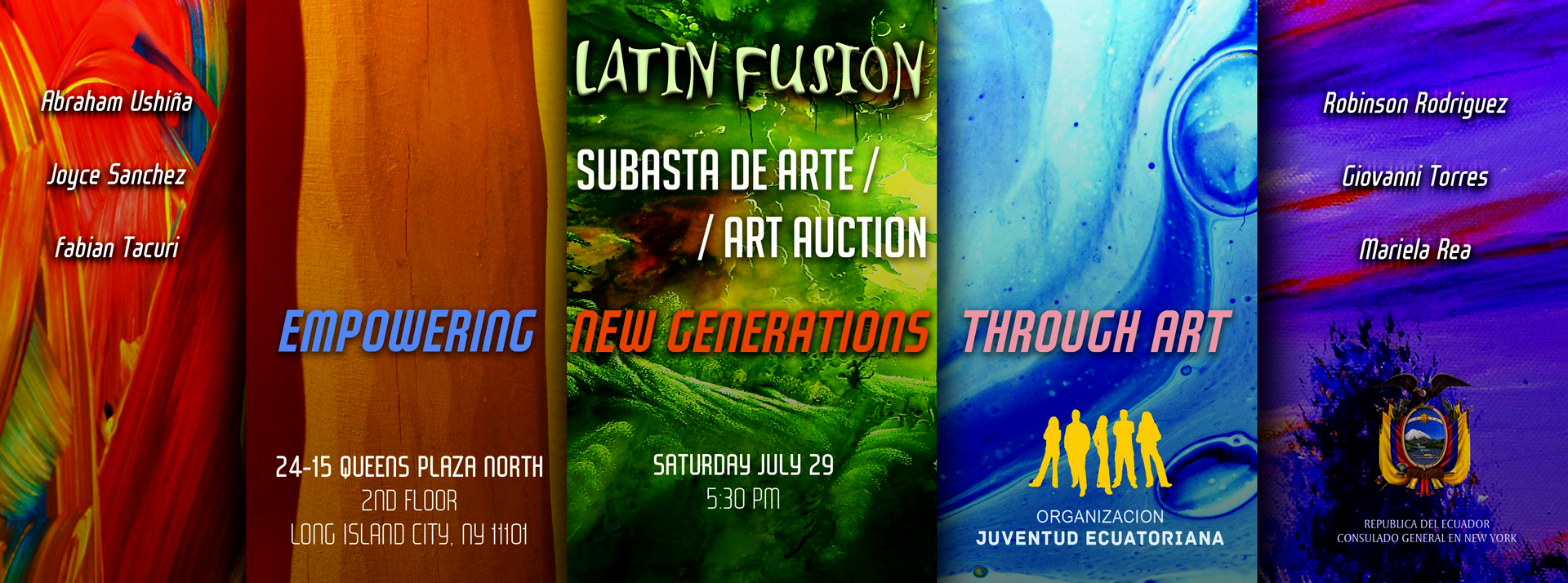 ART AUCTION / SUBASTA DE ARTE | LATIN FUSION